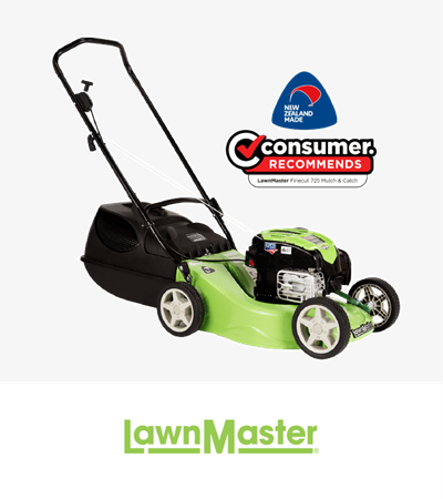 LawnMaster FineCut Mulch & Catch