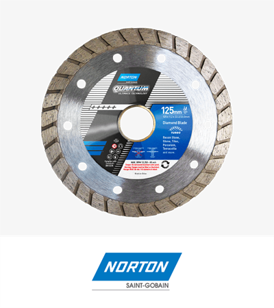 Norton Essential Ultra Thin Turbo Diamond Blade 105x2.1x7x20.0/16.0mm