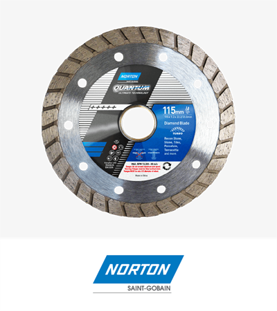 Norton Essential Ultra Thin Turbo Diamond Blade 125x2.2x722.23/20.0mm
