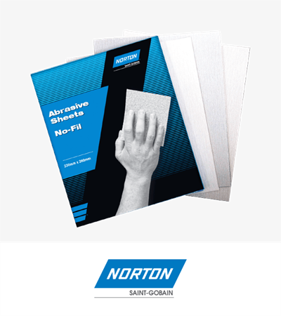 Norton No-fil Sheet A239 P150