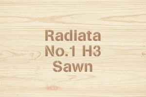 Radiata No.1 H3 Sawn