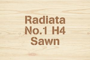 Radiata No.1 H4 Sawn