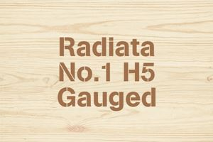 Radiata No.1 H5 Gauged