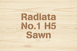 Radiata No.1 H5 Sawn