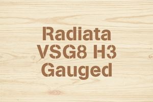 Radiata VSG8 H3 Gauged