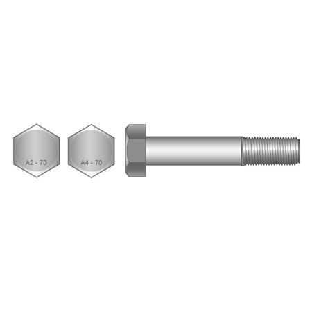 ENGINEERING BOLT M12 X HEX BOLT S/STEEL