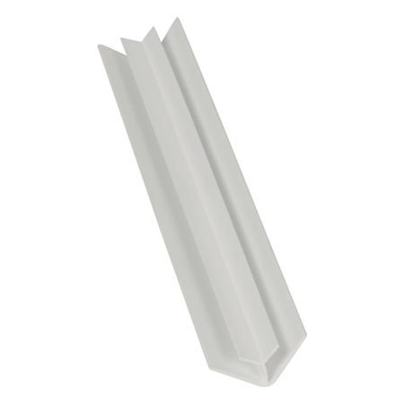 INT CORNER 5MM X PVC WHITE